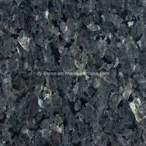 Import Granite Stone Norway Light Blue Pearl Slab for Tiles/Countertops