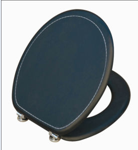 Elastic Painting Moulded Wood Toilet Seat