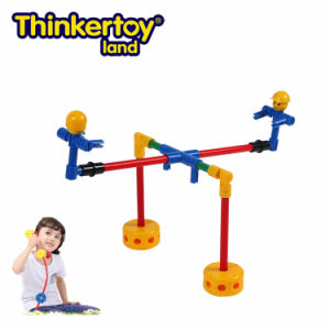 Thinkertoy Land Blocks Educational Toy Park Series Mini Park Seesaw (P6201)