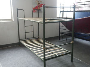 China Strong Military Army Metal Bunk Beds China Military Bed