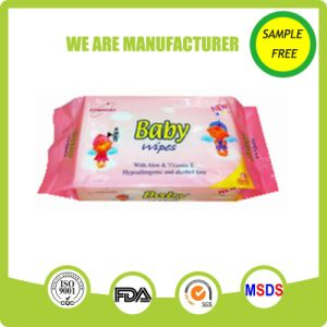 Spunlace Nonwoven Material Natural Baby Care Wet Wipes