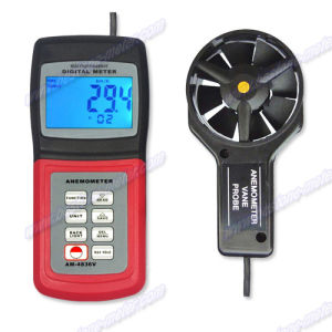 Multi-Function Thermo Anemometer Am-4836V pictures & photos