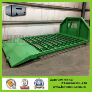Open Top Hook Lift Roll off Flat Trays pictures & photos