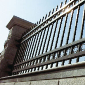 Outdoor Decoration Application Forged Iron Fence