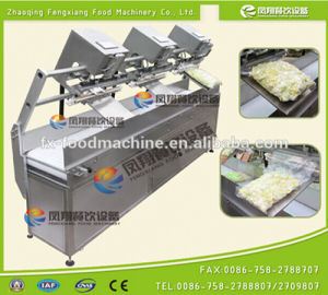 Fsdz-3 Continuous Automatic Fried Potato Chips Beans Rice Tea Vacuum Packing Machine