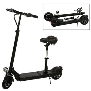 8inch Folding Electric Scooter with Seat & Handle