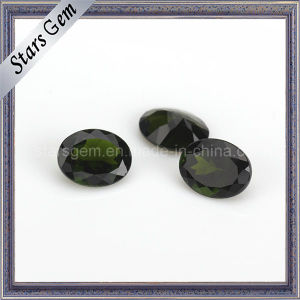 Factory Price Natural Cut Oval Shape Natural Diopside pictures & photos