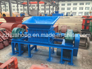 Recycling Plastic Tire Double Shaft Shredder Machine pictures & photos