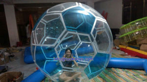 Giant Inflatable Water Ball on Football Design (TK-021)