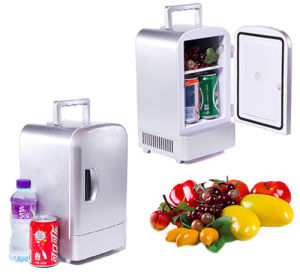Portable Mini Fridge 4liter DC12V, AC100 240V For Cooling And Warming