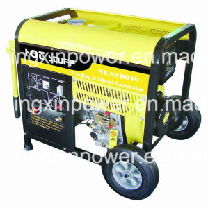 5kw Diesel Welding Generators (SE6500W) pictures & photos