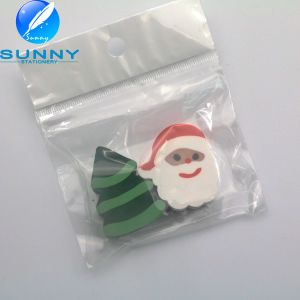 Father Christmas Shape Eraser, Cartoon Shaped Eraser for Promotion Gift pictures & photos