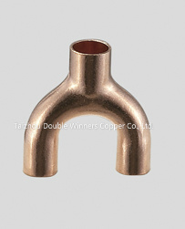 Y-Bend Copper Fitting for ACR Fitting pictures & photos