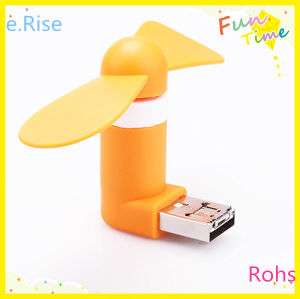 Practical Convenient OTG Mini Fan for Mobile Phone