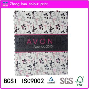 Customized Print /A5/Avon Agenda Spiral Binding Notebook (150601004)