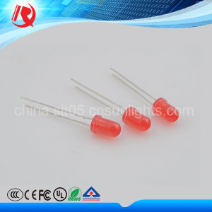 Manufacture 5mm Red High Brightness Water Clear LED pictures & photos
