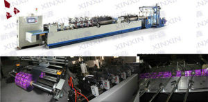 PLC Touch Screen Control High Speed 3 Side Sealing Bag Making Machine