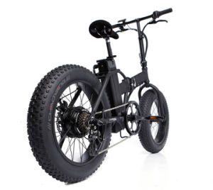 20 Inch Folding Electric Bike with Fat Tire pictures & photos