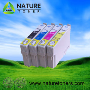 T0711, T0712, T0713, T0714 Compatible Ink Cartridge for Epson Printer pictures & photos