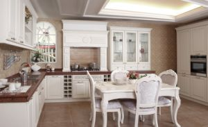 Shaker PVC Kitchen Furniture with Many Colors (zc-050) pictures & photos