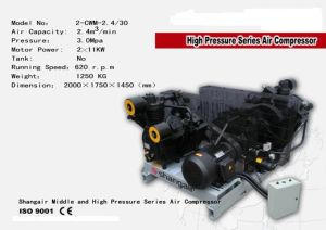 Middle and High Pressure Air Compressor (W-1.6/3.0)