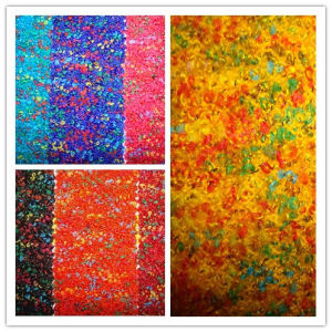 Wool Acrylic Colour Fancy Terry Woolen Knit Fabric pictures & photos
