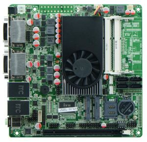 Industrial AMD Motherboard with 2-RTl8111E and 4-DVI 1-VGA pictures & photos