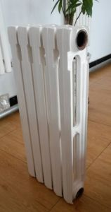 White Cast Iron Heater Radiator