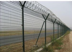 High Security and Practical PVC Coated Wire Mesh Fence-1