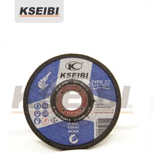 High Quality Kseibi Blue Depressed Centre Gringding Discs for Metal pictures & photos