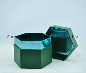 Custom Design Hexagonal Shape Gift Packaging Paper Box pictures & photos