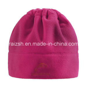 Outdoor Warm Multifunctional Fleece Scarf Hat Dual-Use Collar and Cap