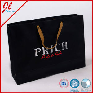 Foldable Printed Kraft Paper Bag with String Handle pictures & photos