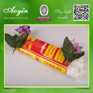 Paraffin Wax White Candle to Madagascar pictures & photos
