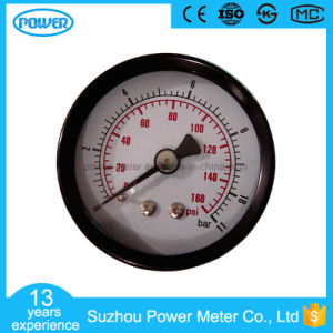 63mm Back Type Black Steel Manometer pictures & photos