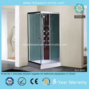 New Design Square and Back Massage Jets Shower Cubicle (BLS-9804) pictures & photos