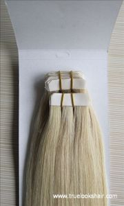 European Double Drawn Remy Virgin Hair Extension Tape
