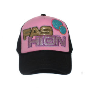 Wholesale Patch Logo Foam and Mesh Trucker Cap with Rope pictures & photos