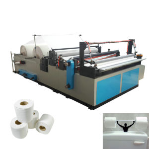 Good Quality and Low Price Rewinder Toilet Paper Machine pictures & photos