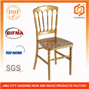 Gold Polycarbonate Resin Napoleon Chiavari Chairs pictures & photos