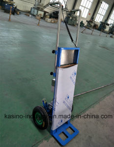 Two Wheels Electric Stair Climbing Hand Truck/Trolley for Transport Appliances, Goods pictures & photos