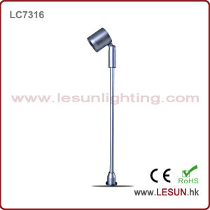 OEM Height Silver/Black 1W LED Jewelry Spotlight for Museum Display LC7316 pictures & photos