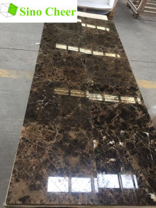 China Brown Marble Dark Emperador Marble Tile pictures & photos