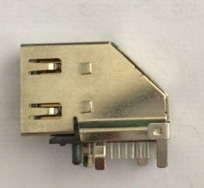 HDMI Female a Type Connectors, with 19POS Upright Type pictures & photos