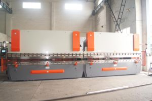 Tandem CNC Press Brake 2-Wc67k-100t/4000 with Da52s pictures & photos