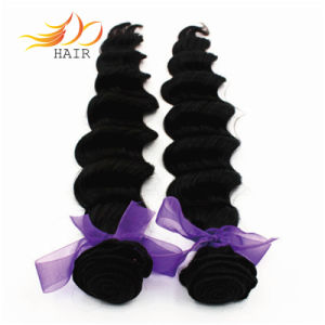 Indian Virgin Hair Weft Loose Deep Wave Human Hair Products pictures & photos