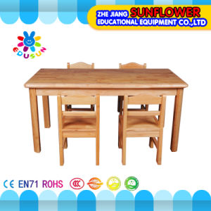Wooden Children Table for Preschool (XYH-0023)