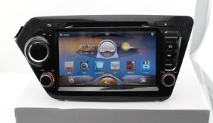 KIA K2 Rio Pure Android 4.0 Car DVD with 5-Point Capacitive Touch 1024X600 HD LED Screen GPS Bluetooth 2g DDR3 RAM Steering Wheel Control