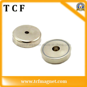 Permanent Neodymium Pot Magnet with Cuntersunk Hole