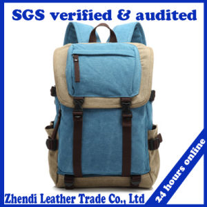 Wholesale Luxury Men Canvas Backpack (3828)